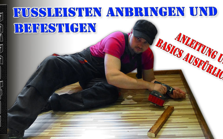 Fussleisten Anbringen Anleitung Mit Mark Molter Rhonkanal Schafe
