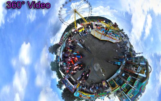 Heiratsmarkt Kaltennordheim 2017 - 360° Video - Rhönkanal