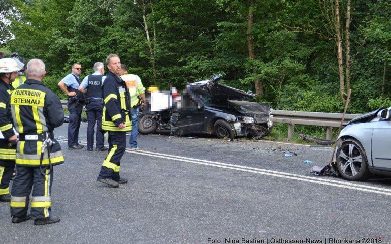 Unfall Fulda 3 Tote