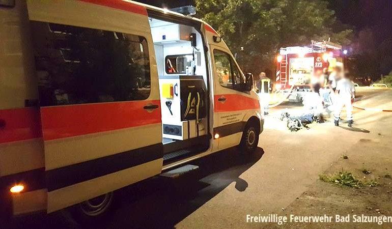 Kellerbrand Bad Salzungen – Feuerwehrmann verletzt